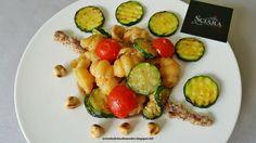 Le    ricette    di    Claudia  &   Andre : Gnocchi di pasta con zucchine, pomodorini e Pesto ...