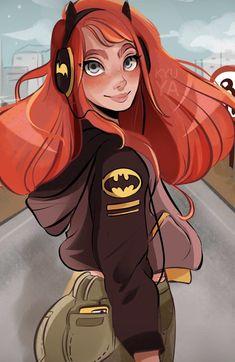 Batgirl. Kyuya.