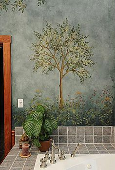Wall Mural Stencils large tree stencil for wall painting. mural stencils at great