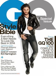 #Cover | Kit Harington en GQ Magazine (Abril 2014) www.beewatcher.es