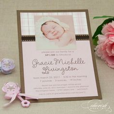 Cherish Paperie Blog: A Sip & See for Baby {Ideas & Inspiration}