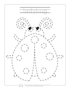 Spring Tracing Worksheets - Itsy Bitsy Fun Free Preschool, Preschool Learning, Preschool Activities, Teaching Kids, Learning Skills, Tracing Worksheets, Preschool Worksheets, Money Worksheets, Therapy Worksheets