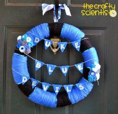 The Crafty Scientist: Duke Wreath