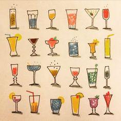 Marie Åhfeldt @masillustra Beverage #dryck #...Instagram photo   Websta (Webstagram)