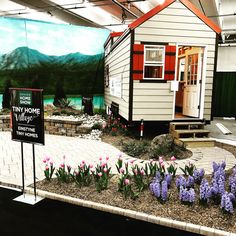 Precision Landscape from #wheatridge #colorado did an incredible job with our booth space at the #denver #homeshow. Come see us this weekend at the national western complex! . . . . #einstynetinyhomes #tinyhouse #tinyhousemovement #tinyhousenation #tinyhouseliving #tinyhome #tinyhouses #tinyhomes #tinyhouseonwheels #thow #offthegrid #tiny #small #minimalism #simple #house #home #construction