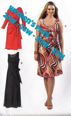 Kwik Sew Tunics & Pant Plus Size Pattern from fabricdot The
