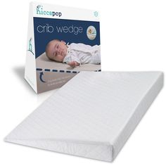 Co Sleeper Attach To Bed - hiccapop FOLDABLE Safe Lift Universal Crib Wedge for Baby Mattress and Sleep * Find out more about the great product at the image link. (This is an affiliate link) Baby Crib Mattress, Baby Cribs, Mattress Pad, Co Sleeper, Thing 1, Gifts For New Parents, Baby Cover, Mixed Babies, Baby Head
