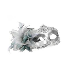 SODIAL- Venetian Style Silver Eye Costume Masquerade Mardi Mask ($2.58) found on Polyvore. If your reading this, I'm trying to get to 400 followers and would really appreciate it if you followed me!
