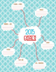 Goals 2015 by Cucawik on Etsy