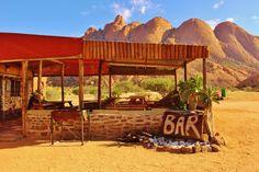 Desert bar at spitzkoppe