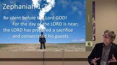 The Minor Prophets -  Zephaniah Chapter 1