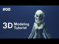 [Part 0/ 40] Anime Character 3D Modeling Tutorial II - Introduction