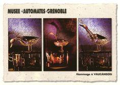 24/02/1709 #CumpleCientífico de Jacques de Vaucanson, genio francés de la mecánica y famoso constructor de autómatas #robots.
