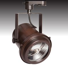 The TRi-PIN-LED available in 'antique brass' - from Photec Lighting #led #spotlight #lighting