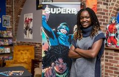 In Howard alumna Dr Sheena Howard became the first Black woman to win an Eisner Award for her book Black Comics: Politics of Race and Representation She is a College professor and and the founder of The NerdWorks Project Virginia State University, Hampton University, Lincoln University, Delaware State, Howard University, University Of Maryland, Norfolk State, Black Comics, State College