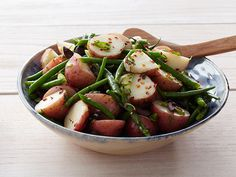 String Bean and Potato Salad Recipe : Anne Burrell : Food Network - FoodNetwork.com