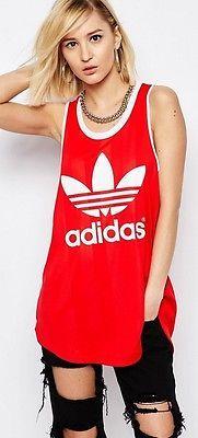 Brand New Adidas Originals Trefoil Kim Kardashian Vest - Size: UK 8, 10, 12 & 14