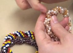 Spiral Beaded Jewelry Variations Tutorials ~ The Beading Gem's Journal