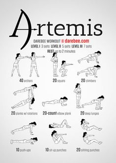 Artemis Workout aka my archery workout. Fitness Workouts, Hero Workouts, Fitness Motivation, Agility Workouts, Nerd Fitness, Yoga Fitness, Ab Workout At Home, At Home Workouts, Fat Workout