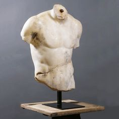 Discophorus' Chest - Chest sculpture in the style of the Discophoros created by the Greek sculptor Polyclitus
