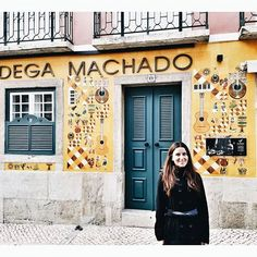 Wandering around the streets of Chiado and admiring Portuguese culture. #traveler #photography #lisbon #chiado #lisbonworld #portuguseculture #portugal