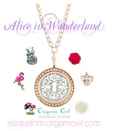 """Alice - Origami Owl"" by elizabeth84 on Polyvore"