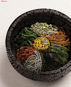 Bibimbap *Typography -Illustrator Only  Design by Byungchul LEE
