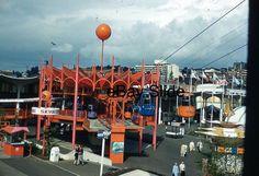 Seattle World's Fair 76 Skyride Century 21 Original 35mm Slide Scenic View