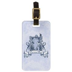 Customise Your Own Lacrosse Dad Luggage Tag. Very easy to customize luggage tags! Just type your text in and go! To see more bag tags with sports designs, check out my store at: http://www.zazzle.com/gamefacegear*/ and you can find them in the 'Customizable Luggage Tags' category. #LacrosseDad