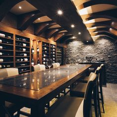 The Wine Cellar at The Royal Yacht Wine Tasting Room, Wine Tasting Events, Tasting Menu, Casa Top, Wine Cellar Basement, Home Wine Cellars, Wine Cellar Design, Wine House, Home Bar Designs