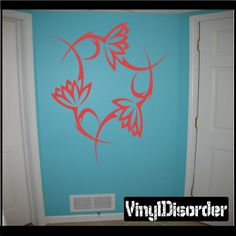 Flower Wall Decal - Vinyl Decal - Car Decal - CF23190