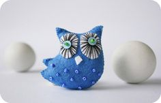 Moloco owls by MyOwlBarn, via Flickr