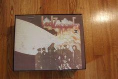 Led Zeppelin II  12x10x3.5 inches Valet Box  by JBMAlbumPurses, $45.00