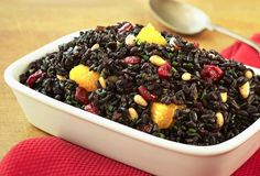 Cranberry Orange Black Rice Recipe | Village Harvest Rice
