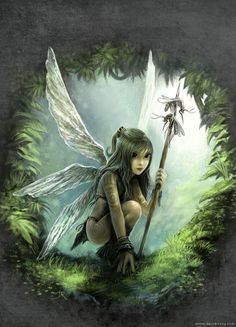 Another woodland fairy for Isa. What kind of fairy do you think she is?