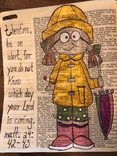 Matthew 2442 43 Be On Alert BibleJournaling
