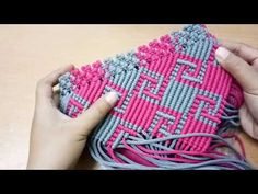 Membuat Tas Macrame Motif Kalimantan - Part I - YouTube