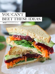 Clean eating detox sandwiches | yum. Gluten Free Magazine October 2015 Edition #21
