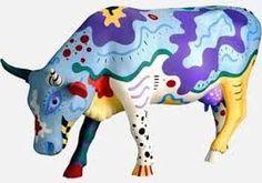 vacas pintadas por artistas - Buscar con Google