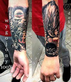 Great Tattoos, Yui, Tatting, Arms, Skull, History, Ideas, Tatoo, Military Tattoos
