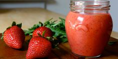 This sweet vinaigrette made with fresh strawberries will add gourmet flair to your summer salads.   Total Time: 10 min. Prep Time: 10 min. Cooking Time: None Yield: 4 servings  Ingredients: 2 Tbsp. apple cider vinegar (or white balsamic vinegar) 2 Tbsp. extra-virgin olive oil 1 Tbsp. raw honey ¼ tsp. sea salt ¼ tsp. ground black pepper 1⅓ cups sliced fresh strawberries  Preparation: 1. Place vinegar, oil, honey, salt, pepper, and strawberries in a blender; cover. Blend until smooth.