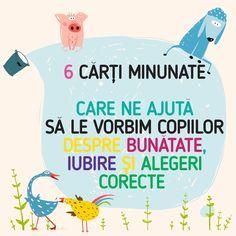 Uneori poate fi greu să transmitem copiilor ce este iubirea, ce este bunătatea și cum fac ele viața mai frumoasă. Hard Work, Montessori, Parenting, School, Books, Kids, Young Children, Libros, Boys