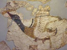 Akrotiri Fresco of a duck
