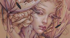 色鉛筆で描かれた妖しげな女の子たち。Jennifer Healyの描くイラスト作品 | ARTIST DATABASE