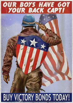 captain america shield on back Captain America Poster, Captain America Wallpaper, Captain America Shield, Capt America, Marvel Movie Posters, Marvel Characters, Marvel Movies, Thor, Ww2 Propaganda Posters