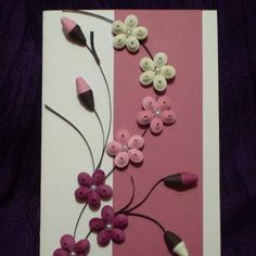 quilled card
