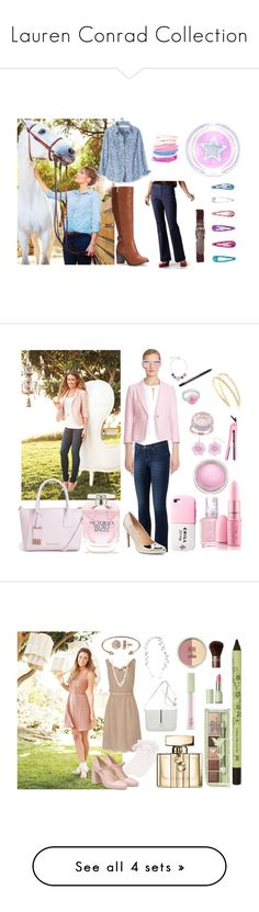 """Lauren Conrad Collection"" by minicelebfashion on Polyvore featuring LC Lauren Conrad, Gloria Vanderbilt, Ted Baker, CeCe, Apt. 9, Royale, Essie, Sheriff&Cherry, MAC Cosmetics and Miu Miu"