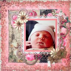 Scrapbook.com Layout Projects: Baby