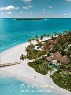 The Nautilus Maldives. Resort Aerial Photos. Triptych Best Resorts In Maldives, Visit Maldives, Maldives Resort, Vacation Trips, Vacation Spots, Beautiful Places To Travel, Wonderful Places, Aerial View, Places To Go