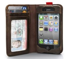 BookBook Case for iPhone 4 / 4S